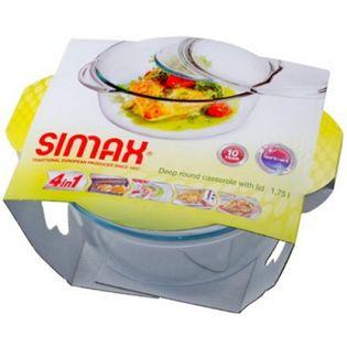 Naczynie żaroodporne z pok. 1,75 l + 0,4 l SIMAX