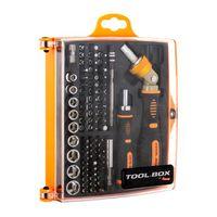 Zestaw bitów i nasadek DigitalBox TOOL.BOX 74 elementy