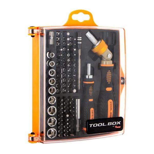 Zestaw bitów i nasadek DigitalBox TOOL.BOX 74 elementy na Arena.pl