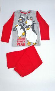 Piżama PINGWINY Z MADAGASKARU r.98