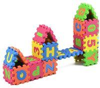 XM34 MATA ALFABET Puzzle Piankowe dla dzieci