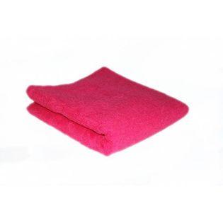 Hair Tools Bawełniany Ręcznik Ciemny Róż 50x85cm