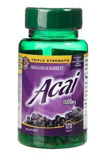 Acai Berry, 1500mg - 120 tablets Holland & Barrett