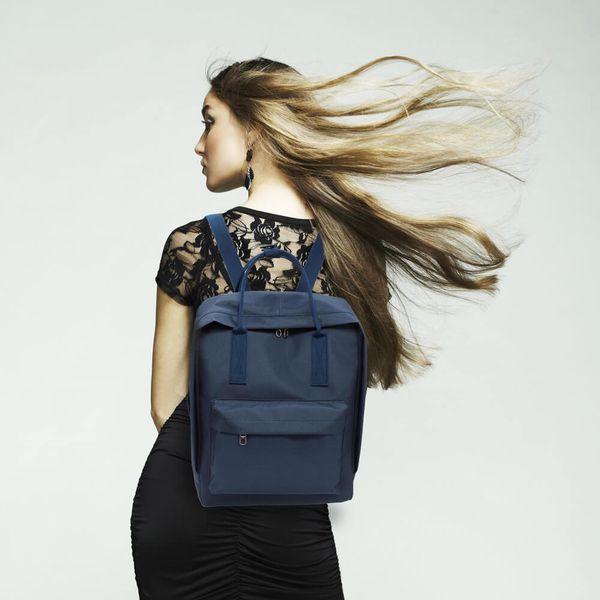 Plecak jak kanken CLASSIC vintage damski młodzieżowy granatowy zdjęcie 2