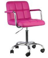 Fotel biurowy krzesło obrotowe model N13 róż