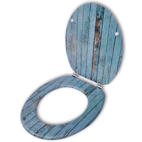 Deska klozetowa, wzór drewna zdjęcie 1