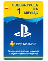 PlayStation Plus 1 miesiąc PSN PS4 PS3 PSP Vita