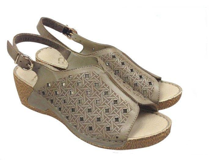 Sandały RIEKER V1166 beż Rozmiar obuwia 39, Kolor Beżowy
