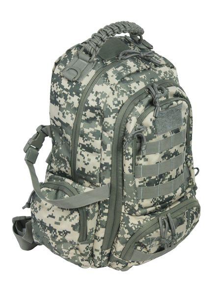 Dwukomorowy plecak szkolny St.Right 30 L, Military Moro BP36 zdjęcie 2