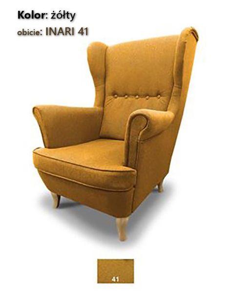Fotel Uszak Skandynawski - stylowy design zdjęcie 6