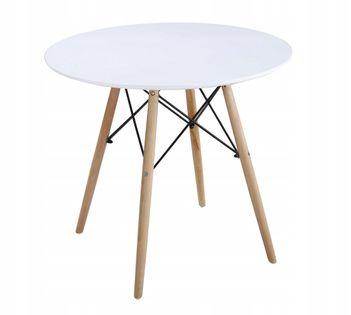 Stół okrągły 80 cm nowoczesny design MILANO