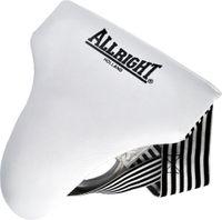 Suspensor bokserski PU Allright biały rozmiar XL