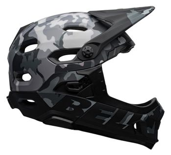 Kask full face BELL SUPER DH MIPS SPHERICAL matte gloss black camo roz. S (52–56 cm) (NEW)