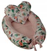 Kokon niemowlęcy PREMIUM + poduszka serce