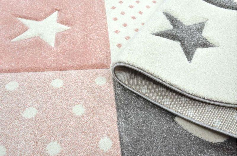 Uroczy dywan dla dzieci Pastel Kids miękki i gęsty 120x170cm zdjęcie 4