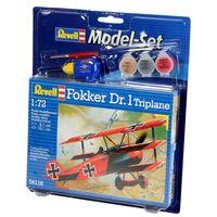 Model Set Fokker Dr. 1 Tripla