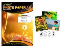 Papier fotograficzny SAVIO  PA-01 A6 180g/m2 20szt. błysk