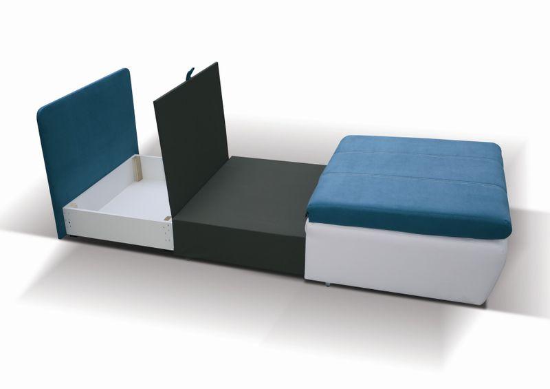 Sofa - fotel rozkładany Ringo - różne kolory zdjęcie 3