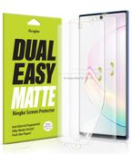 Folia Ringke Dual Easy Matte Samsung Galaxy Note 10 Plus Case Friendly