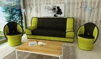MIKI BIS- wersalka kanapa fotel zestaw komplet wypoczynkowy