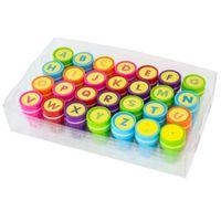 PIECZĄTKI dla dzieci stempelki LITERKI alfabet