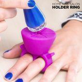 Pierścień na Lakier do Paznokci Nail Salon zdjęcie 5