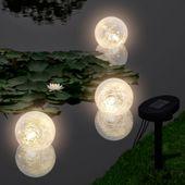 Pływające Lampy Solarne Led Do Stawu, 3 Sztuki zdjęcie 1