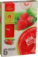 Duże podgrzewacze Tealight Maxi a'6 Strawberry