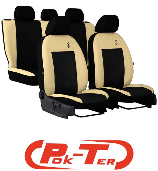 Pokrowce Fotel Skóra Ford Mondeo Mk3 Focus Mk1 Mk2 Arenapl