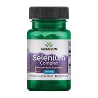 Swanson Selenium Complex 200mcg 90 kaps.