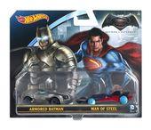 Mattel Hot Wheels Batman V Superman Dwupak