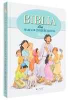 BIBLIA DLA DZIECI MAŁEGO CHRZEŚCIJANINA grawer GRATIS PREZENT NA CHRZEST