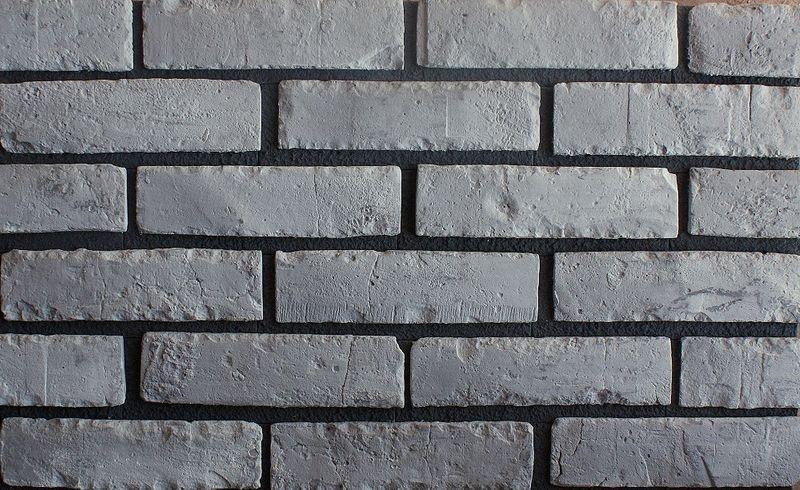 Nowość! Stara Cegła Grafitowa Grafit Szara z Fugą Płytki Dekoracyjna na Arena.pl