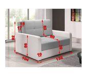 Sofa, Fotel rozkładany CLUB II zdjęcie 2