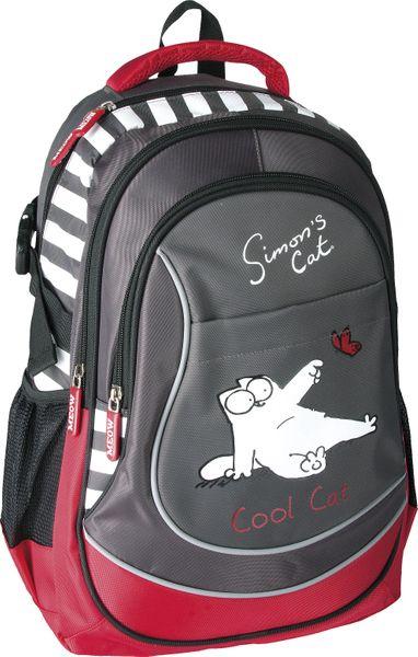 Plecak szkolny SI-23 Simon's Cat Cool + piórnik zdjęcie 3
