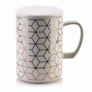Kubek Porcelanowy 460Ml Chic Geo Mondex Htpt0311