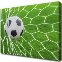 Obraz Na Ścianę 40X30 Piłka W Bramce Zabawa Gra S