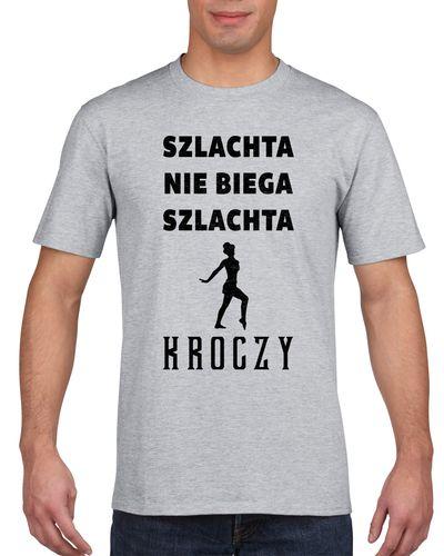 Koszulka męska SZLACHTA NIE BIEGA A KROCZY s XXL na Arena.pl