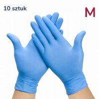 Rękawiczki nitrylowe 10 szt rozmiar M