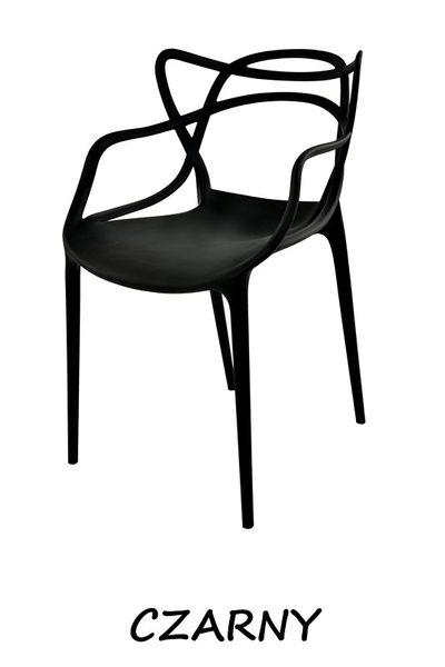 Krzesło Dankor Design Masters czarny wzmacniany zdjęcie 1
