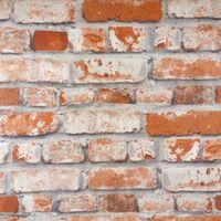 Tapeta Imitacja Stary Mur Cegła 818302