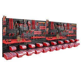 Tablica warsztatowa narzędziowa 230 x 78 cm + 30 kuwet