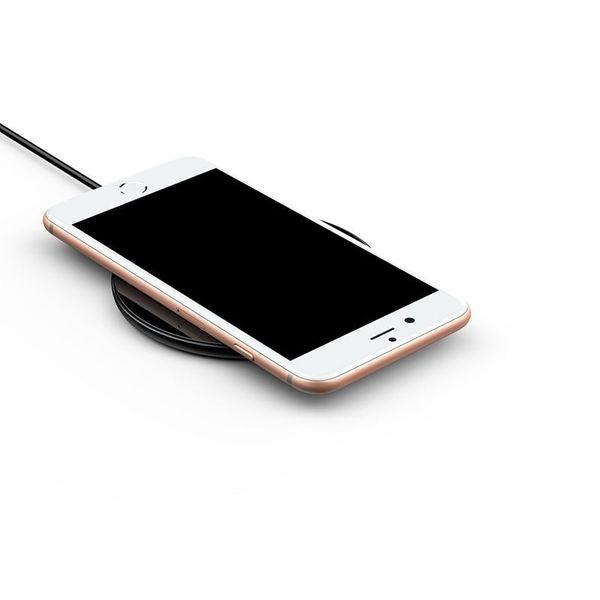 Baseus Simple - Bezprzewodowa ładowarka indukcyjna Qi do iPhone i Android, 10 W (czarny) zdjęcie 6
