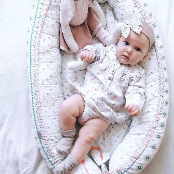 Dwustronny Kokon niemowlęcy Wróżki zdjęcie 6