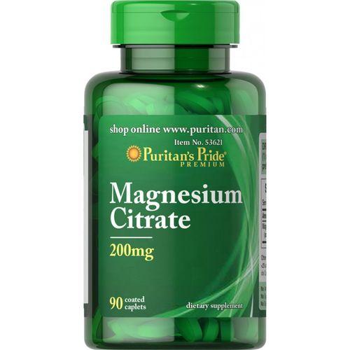 Cytrynian magnezu 200 mg Magnesium Citrate 90 tabletek Puritan's Pride na Arena.pl