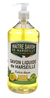 Mydło marsylskie w płynie cytrynowe 1000 ml - Maître Savon