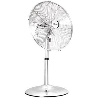 Tristar Ve-5952 Stand Fan, Number Of Speeds 3, 30 W, Oscillation, Diameter 25 Cm, Stainless Steel