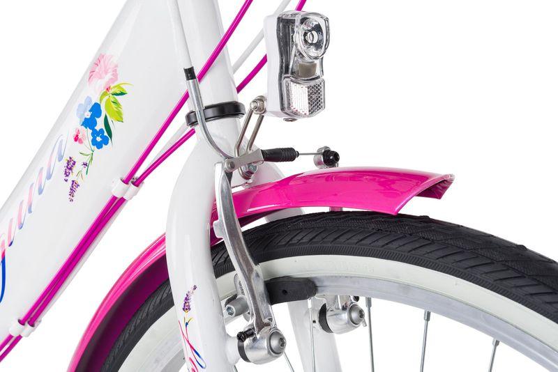 Rower 24 KANDS LAGUNA VS-1 ZWK biało-różowy zdjęcie 3