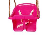 Siedzisko kubełkowe huśtawka pełna z barierką na plac zabaw
