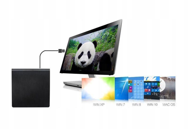 USB 3.0 NAGRYWARKA ZEWNĘTRZNA CD, CD-RW, NAPĘD DVD zdjęcie 4